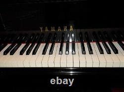 Yamaha 7'4 model C7 grand piano in polished ebony (1988) Top Condition